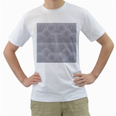 Grid Squares And Rectangles Mirror Images Colors Men s T Shirt (white)