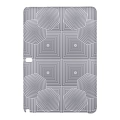 Grid Squares And Rectangles Mirror Images Colors Samsung Galaxy Tab Pro 12 2 Hardshell Case