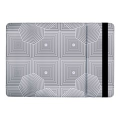 Grid Squares And Rectangles Mirror Images Colors Samsung Galaxy Tab Pro 10 1  Flip Case