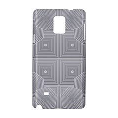 Grid Squares And Rectangles Mirror Images Colors Samsung Galaxy Note 4 Hardshell Case