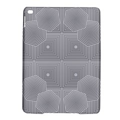 Grid Squares And Rectangles Mirror Images Colors iPad Air 2 Hardshell Cases