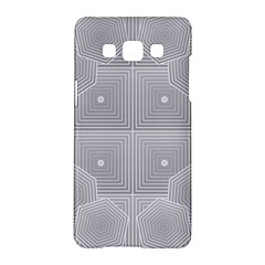 Grid Squares And Rectangles Mirror Images Colors Samsung Galaxy A5 Hardshell Case