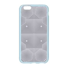 Grid Squares And Rectangles Mirror Images Colors Apple Seamless iPhone 6/6S Case (Color)