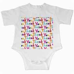 Wallpaper With The Words Thank You In Colorful Letters Infant Creepers
