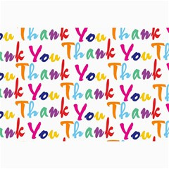 Wallpaper With The Words Thank You In Colorful Letters Canvas 20  X 30