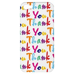 Wallpaper With The Words Thank You In Colorful Letters Apple iPhone 5 Hardshell Case