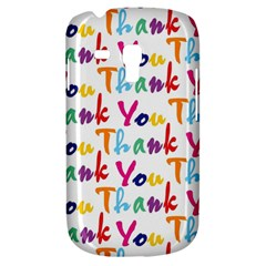 Wallpaper With The Words Thank You In Colorful Letters Galaxy S3 Mini