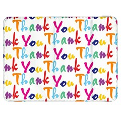 Wallpaper With The Words Thank You In Colorful Letters Samsung Galaxy Tab 7  P1000 Flip Case