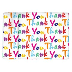 Wallpaper With The Words Thank You In Colorful Letters Samsung Galaxy Tab 10.1  P7500 Flip Case