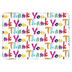 Wallpaper With The Words Thank You In Colorful Letters Samsung Galaxy Tab 8 9  P7300 Flip Case