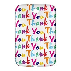 Wallpaper With The Words Thank You In Colorful Letters Samsung Galaxy Note 8 0 N5100 Hardshell Case