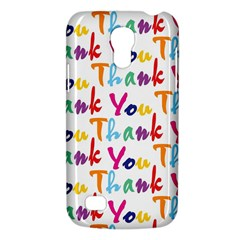 Wallpaper With The Words Thank You In Colorful Letters Galaxy S4 Mini