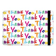 Wallpaper With The Words Thank You In Colorful Letters Samsung Galaxy Tab Pro 10.1  Flip Case