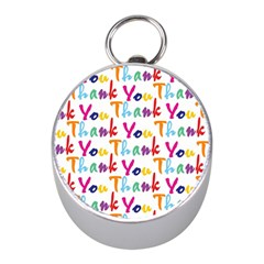 Wallpaper With The Words Thank You In Colorful Letters Mini Silver Compasses