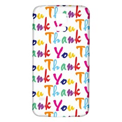 Wallpaper With The Words Thank You In Colorful Letters Samsung Galaxy S5 Back Case (white)