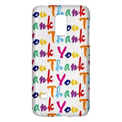 Wallpaper With The Words Thank You In Colorful Letters Galaxy S5 Mini