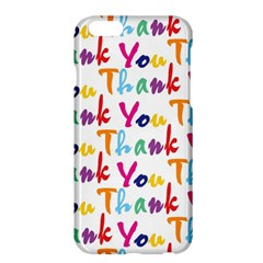 Wallpaper With The Words Thank You In Colorful Letters Apple iPhone 6 Plus/6S Plus Hardshell Case