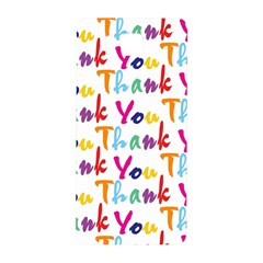 Wallpaper With The Words Thank You In Colorful Letters Samsung Galaxy Alpha Hardshell Back Case
