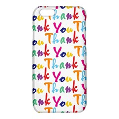 Wallpaper With The Words Thank You In Colorful Letters iPhone 6/6S TPU Case