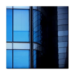 Modern Office Window Architecture Detail Tile Coasters