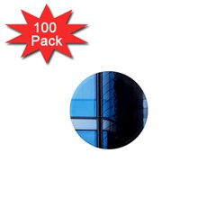 Modern Office Window Architecture Detail 1  Mini Magnets (100 Pack)