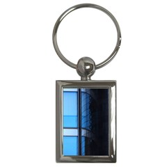 Modern Office Window Architecture Detail Key Chains (rectangle)