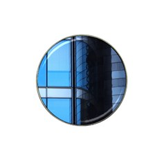 Modern Office Window Architecture Detail Hat Clip Ball Marker (10 pack)