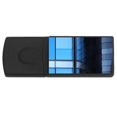 Modern Office Window Architecture Detail USB Flash Drive Rectangular (4 GB)