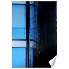 Modern Office Window Architecture Detail Canvas 24  X 36