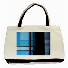 Modern Office Window Architecture Detail Basic Tote Bag (two Sides)