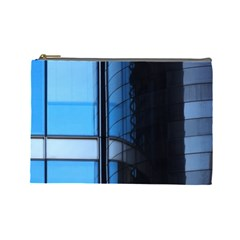 Modern Office Window Architecture Detail Cosmetic Bag (large)