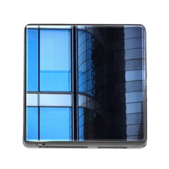 Modern Office Window Architecture Detail Memory Card Reader (square)