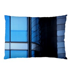 Modern Office Window Architecture Detail Pillow Case (two Sides)