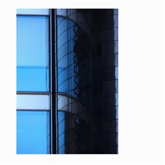 Modern Office Window Architecture Detail Large Garden Flag (Two Sides)
