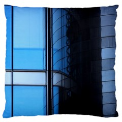Modern Office Window Architecture Detail Large Cushion Case (One Side)