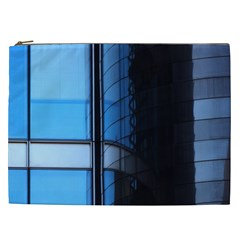 Modern Office Window Architecture Detail Cosmetic Bag (XXL)