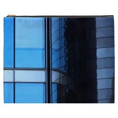 Modern Office Window Architecture Detail Cosmetic Bag (XXXL)