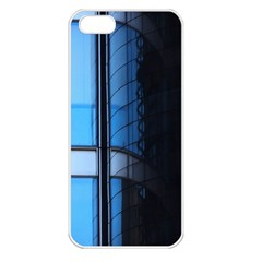 Modern Office Window Architecture Detail Apple iPhone 5 Seamless Case (White)