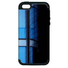 Modern Office Window Architecture Detail Apple iPhone 5 Hardshell Case (PC+Silicone)