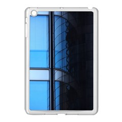 Modern Office Window Architecture Detail Apple iPad Mini Case (White)