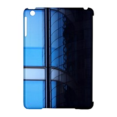 Modern Office Window Architecture Detail Apple iPad Mini Hardshell Case (Compatible with Smart Cover)