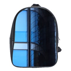 Modern Office Window Architecture Detail School Bags (XL)