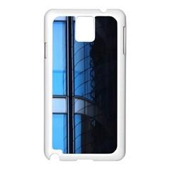 Modern Office Window Architecture Detail Samsung Galaxy Note 3 N9005 Case (White)
