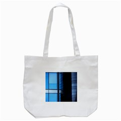 Modern Office Window Architecture Detail Tote Bag (White)