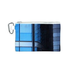 Modern Office Window Architecture Detail Canvas Cosmetic Bag (s)