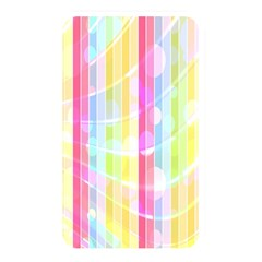 Colorful Abstract Stripes Circles And Waves Wallpaper Background Memory Card Reader