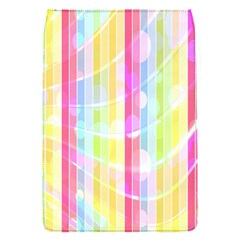 Colorful Abstract Stripes Circles And Waves Wallpaper Background Flap Covers (S)