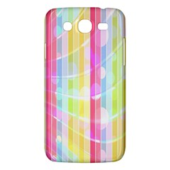Colorful Abstract Stripes Circles And Waves Wallpaper Background Samsung Galaxy Mega 5.8 I9152 Hardshell Case