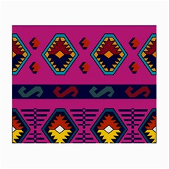 Abstract A Colorful Modern Illustration Small Glasses Cloth