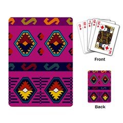 Abstract A Colorful Modern Illustration Playing Card